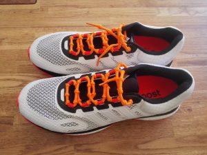 Adidas Response Boost M - 3- Orange Schnürrsenkel