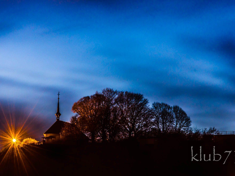 Foto: Zur blauen Stunde